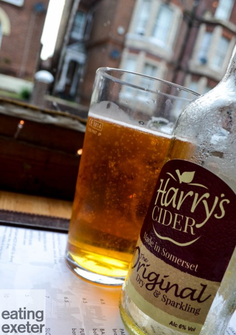 Harry's Restaurant, Exeter. Read the review at www.eatingexeter.co.uk