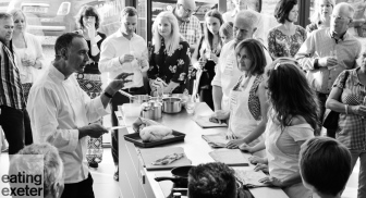 Exeter Cookery School Launch - read more at www.eatingexeter.co.uk