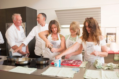 Exeter Cookery School launch at Sapphire Spaces -