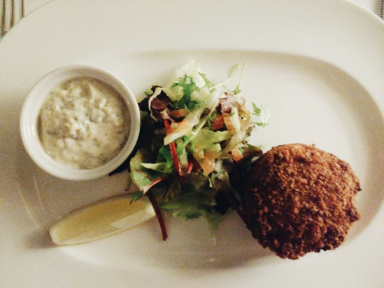 The Orestone Fishcake in all its fishy glory