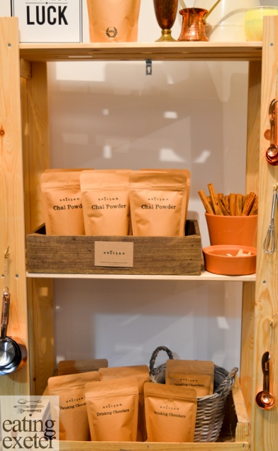 Artisan Chai, Fore St. Exeter