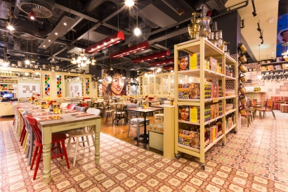 The Launch of Comptoir Libanais, The Avenue, Spinningfields