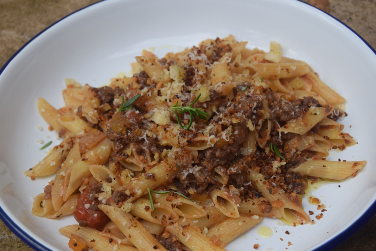 Hornbrook Kitchen's Venison Ragu