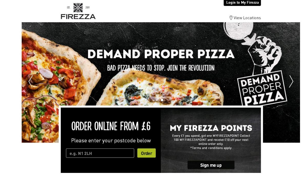 Firezza opens in Exeter The proper pizza revolution hits Exeter: Amazing pizza from £6