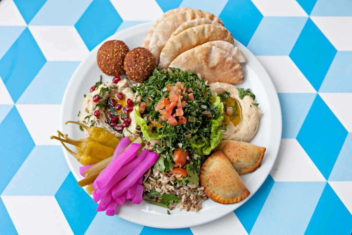 Win a meal out and shopping vouchers for Guildhall favourites Comptoir Libanais and Sainsbury's