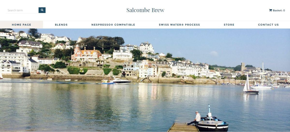 Salcombe Brew: Union Street and Sunny Cove by Chris Gower