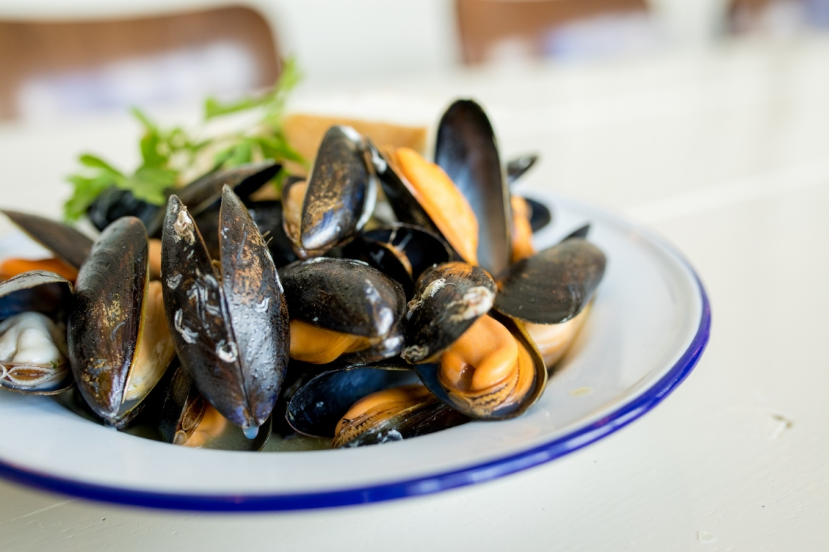 Recipe: Mussels with Chilli, Wine and Bay by Mitch Tonks