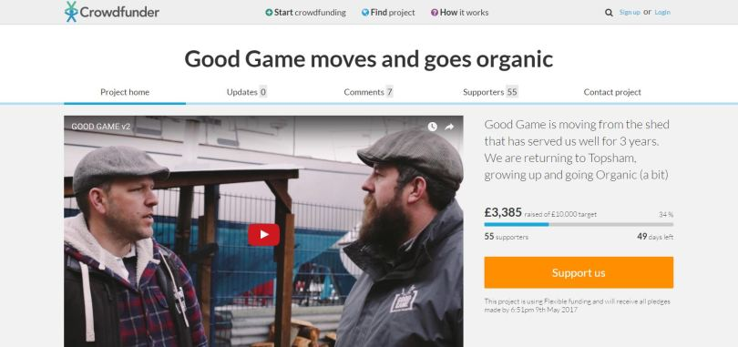 Good Game Crowdfunder