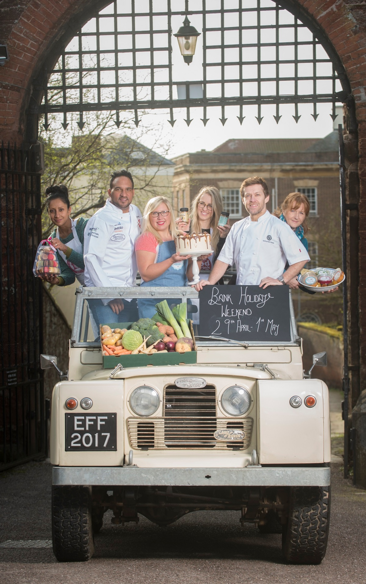 Michelin-Starred Chef Line-Up Announced for the Exeter Festival of South West Food & Drink