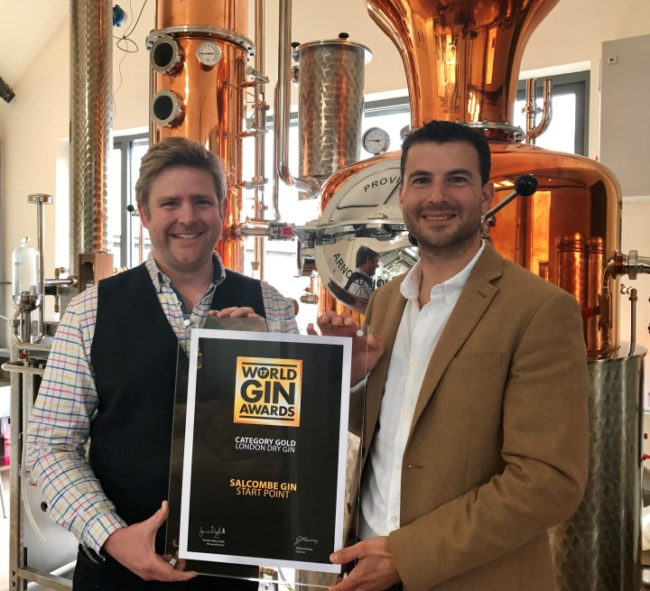 Salcombe Gin_World Gin Awards Certificate