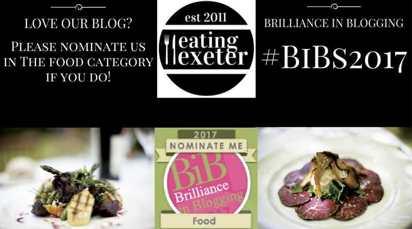 Love us? Nominate us! Brilliance in Blogging Awards #BiBs2017
