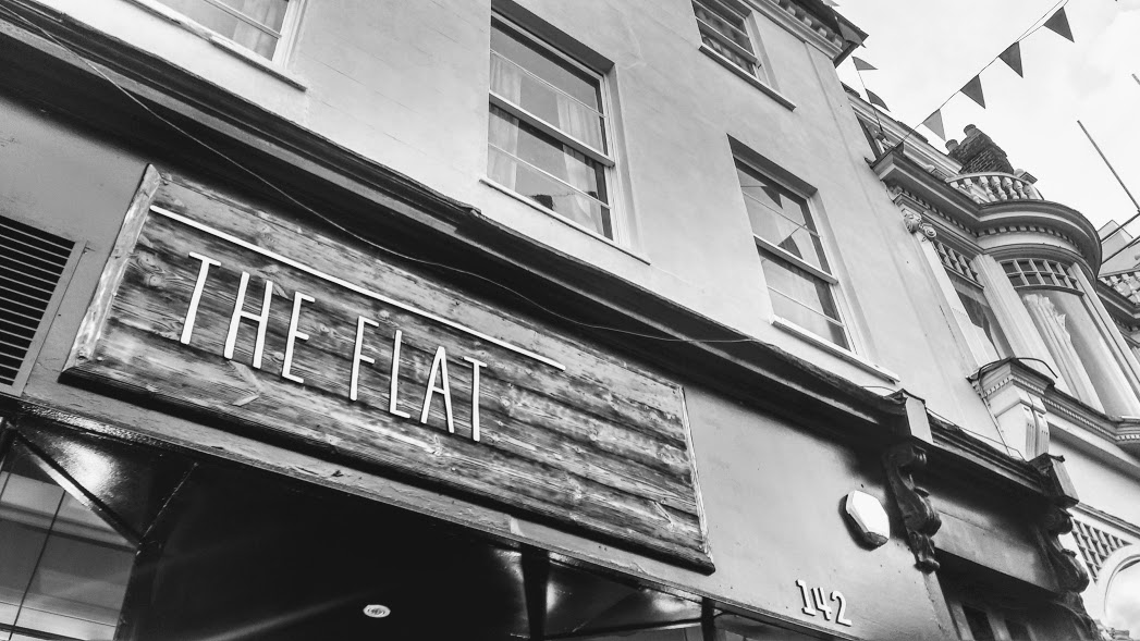 The Flat, 142 Fore St – Vegetarian/Vegan Pizzeria by Chris Gower
