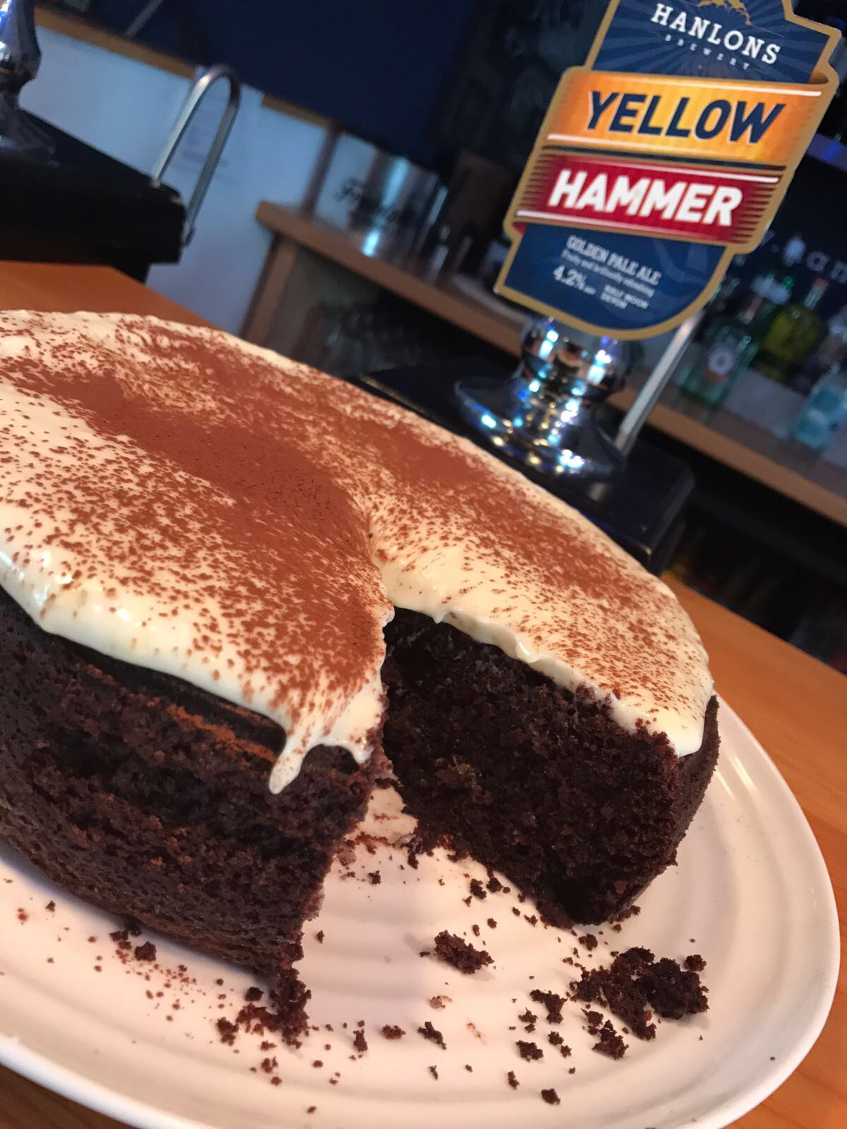 Recipe: Hanlons Port Stout Chocolate Cake