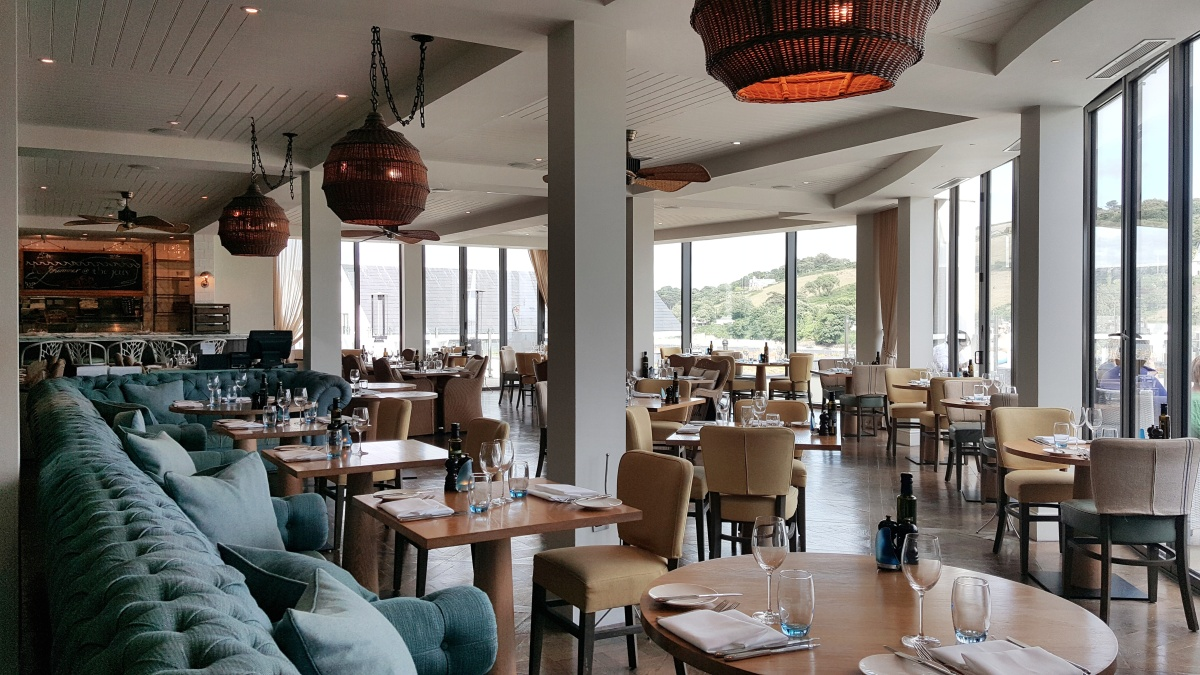 Seafood Delights at Salcombe Harbour Hotel – by Lauren Heath