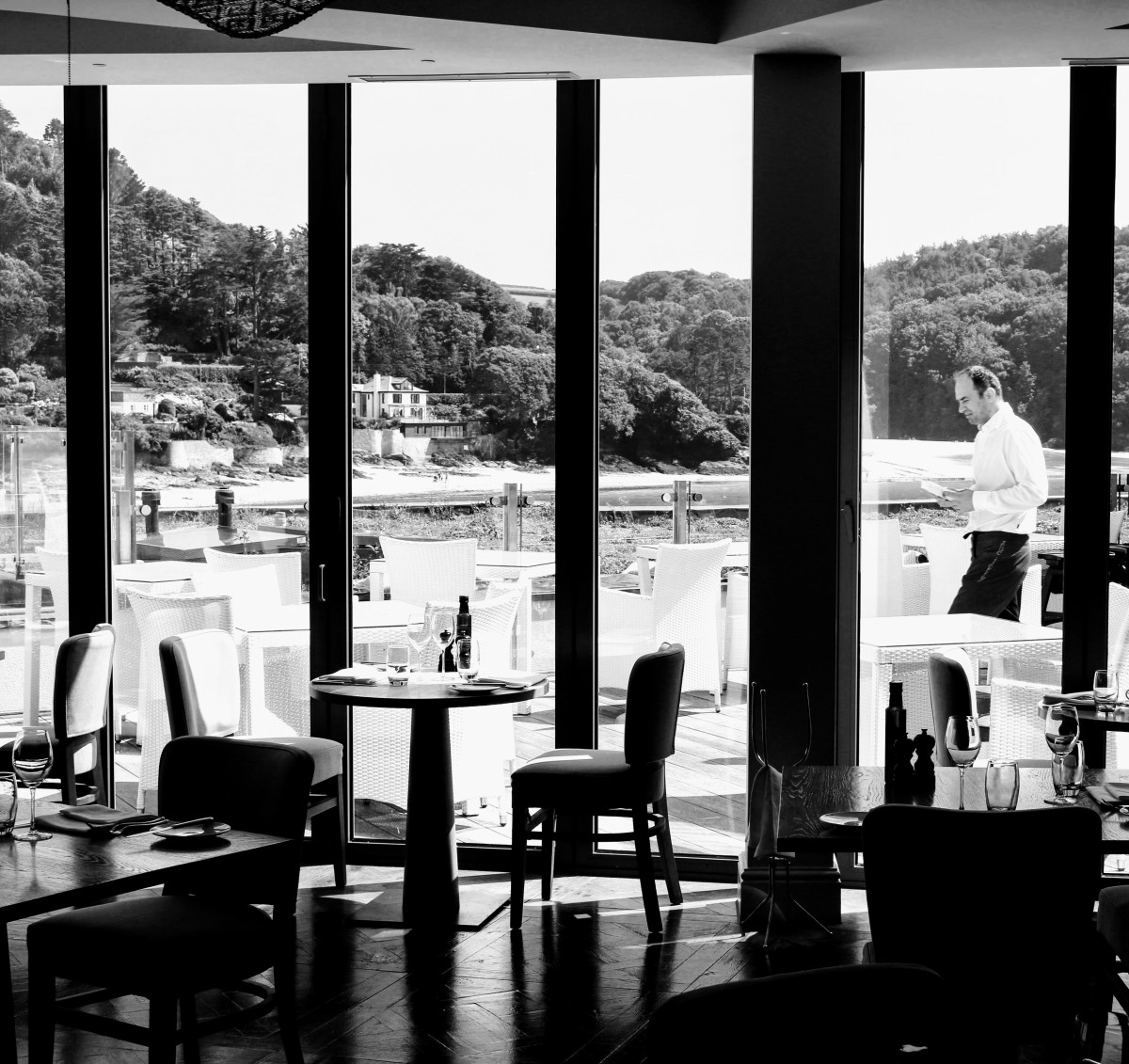 High Tea at Salcombe Harbour Hotel by Chris Gower
