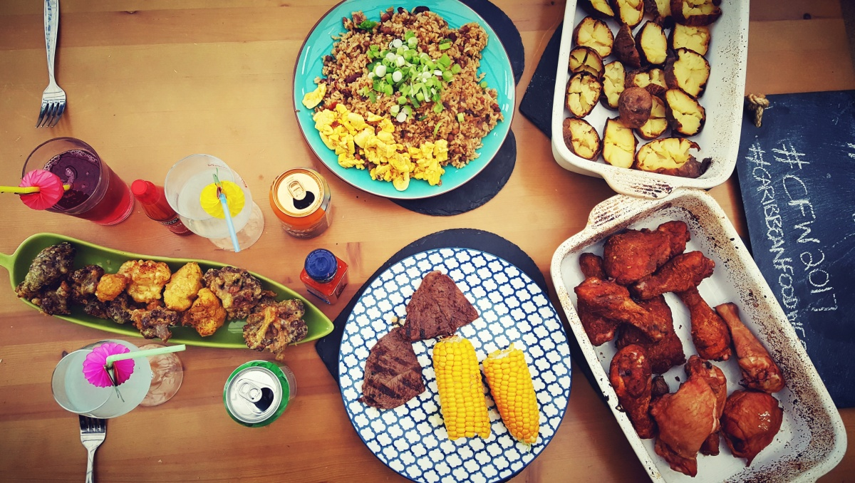 Caribbean Food Week Street Party Spread – by Lauren Heath