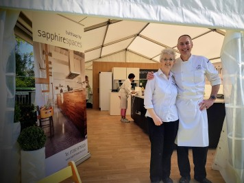 Exeter Cookery School Exeter Food Festival 2019 Jim & Lucy Fisher