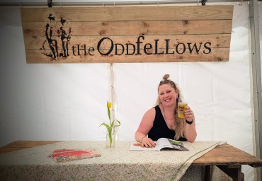 Faye Williams, Yvan Williams, The Oddfellow, Oddfellows Event Bars, Exeter Food Festival 2019,