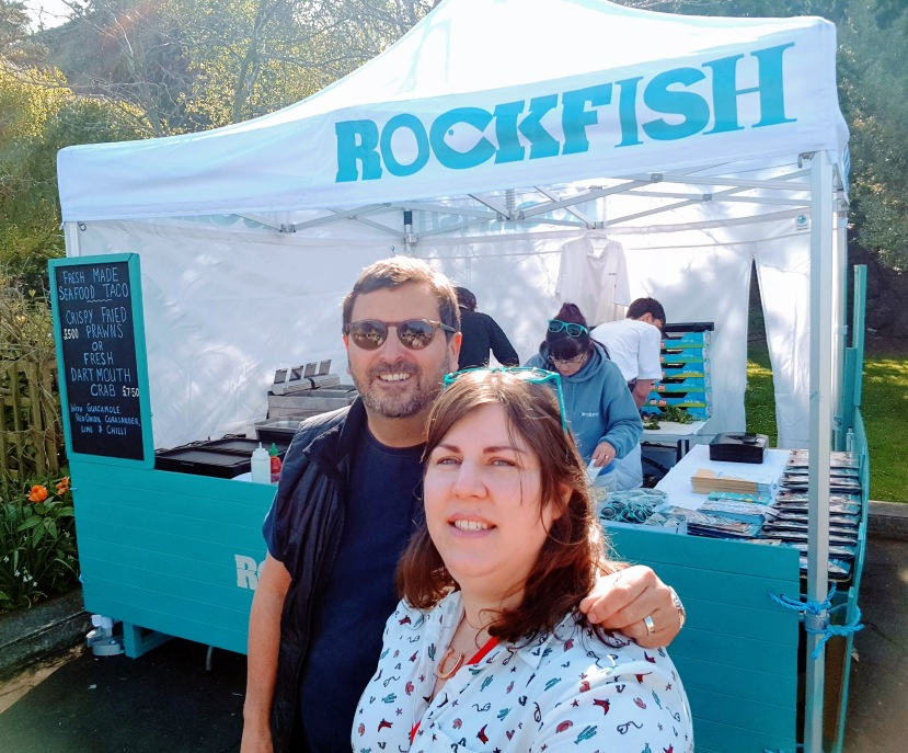 Rockfish Exeter Food Festival Seafood Fish Shellfish Tuna Lobster Crab Mitch Tonks, Lauren heath, Dining devon