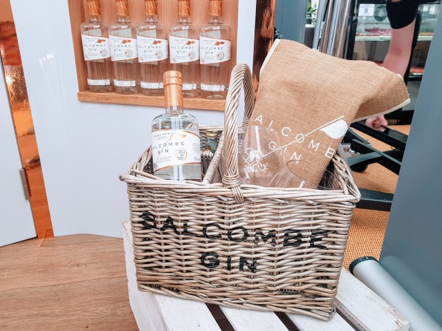 Salcombe Gin Exeter Food Festival Local Gin producer