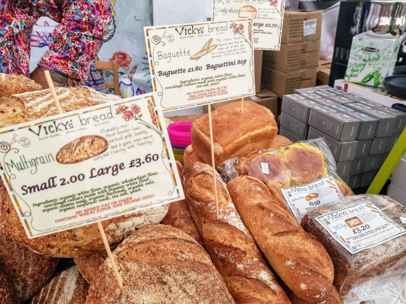 Vickys bread helston Exeter Food Festival Sourdough bakery Devon local producer