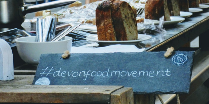 Devon Food Movement, Luke Fearon, Five Mile Challenge, Sandford Orchards