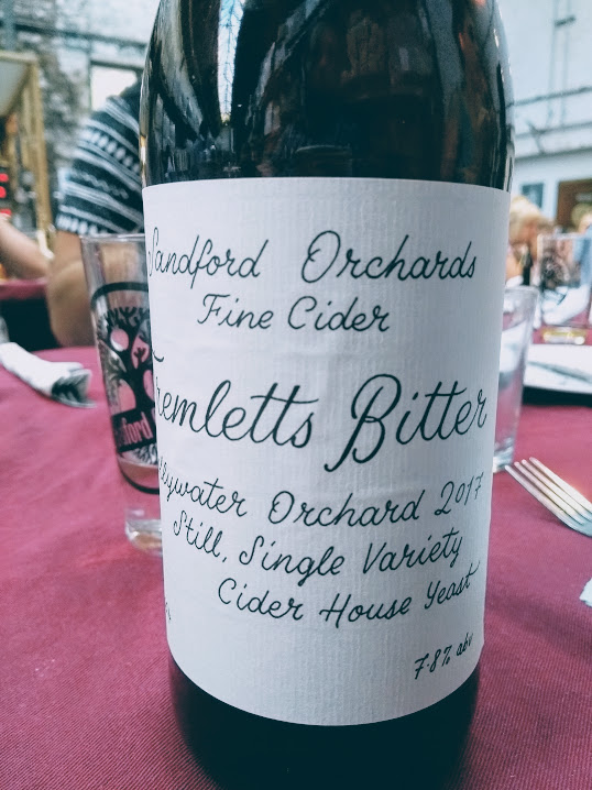 Tremletts Bitter, Sandford Orchards, Secret Cider Society