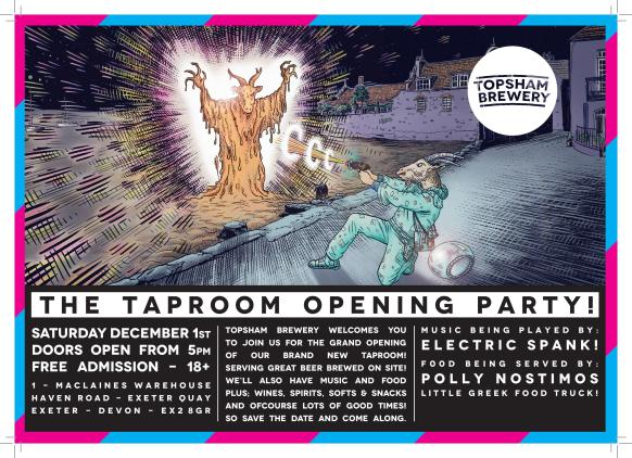 Topsham Brewery - Opening Night Poster-page-001