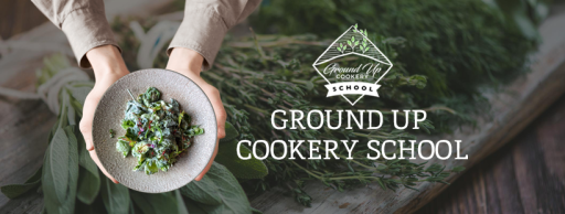ground up cookery school devon banner
