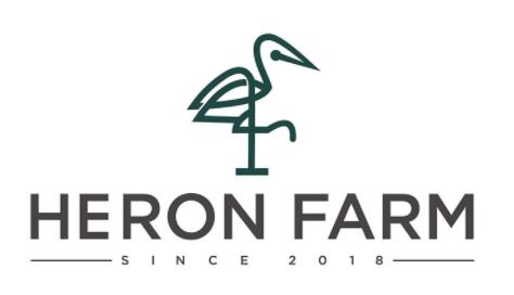 Heron Farm vineyard logo